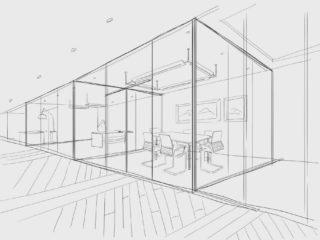 kantoorinrichting projecten tekening ontwerp